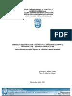 Telles Rangel Alberto UN MODELO DE ESTRATEGIAS COMUNICATIVAS LINGÜÍSTICAS PARA EL DESARROLLO DE LA COMPRENSIÓN LECTORA