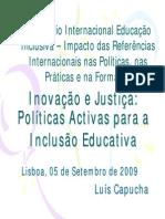 politica inclusivas