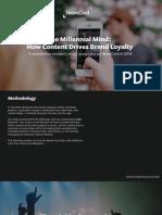 NewsCred Millennial Mind