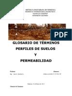 Glosario de Terminos (Geologia)