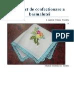 Proiect de Confectionare a Basmalutei