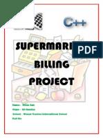 Supermarket Billing Project
