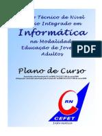 PlanoDeCursoTecEmInformaticaCEFET