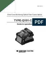 TYPE Q101 CA Operation Manual