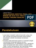 tatalaksana anestesi pada luka bakar