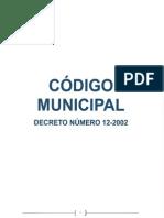 Código Municipal Decreto 12-2002 reformado