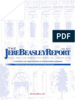 The Jere Beasley Report, May 2007