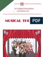 VCM Music Theatre Syllabus 2015