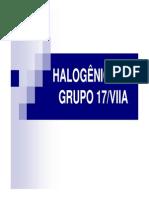 Aula 14 Halogenios Ou Grupo 17