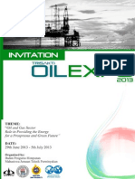 Trisakti Oil Expo 2013 Invitation