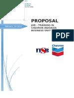 Proposal Kp Chevron (Reservoir Eng)