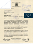 Carta Concejo de Bogotá