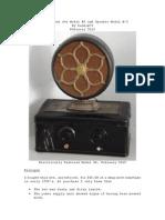 Restoration of My Atwater Kent Model 40 Radio Set