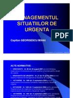 Managementul Situatiilor de Urgenta CCIA