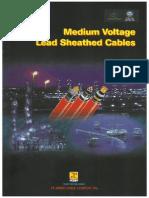 Lead Sheathed Cables Medium Voltage Catalogue