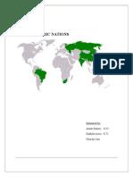 The BRIC economies.docx