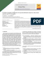 A Techno-economiccomparisonofruralelectrificationbasedonsolarhome Systems and Pv Micro Grid