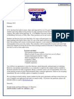 Counselor Application 2012