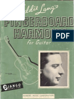 Eddie Lang Fretboard Harmony