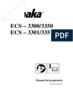 Motosierra de Cadena ECS 3300-3350 ECS 3301-3351