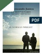 Comenzando Juntos - H. Norman Wrigth