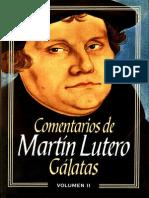 Comentario de Galatas - Martin Lutero