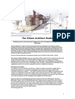 citizen architects studio syllabus