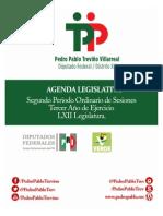 Agenda Legislativa de la Cámara de Diputados del Segundo Periodo de Sesiones