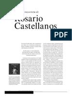 La trayectoria de Rosario Castellanos