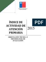 2015 Orientaciones IAAPS