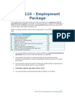 cm 2110 - employment package
