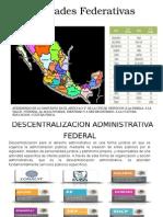 Descentralizacion Administrativa Federal