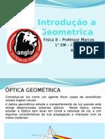 Aula 1  e 2  - Introdução a Optica Geométrica