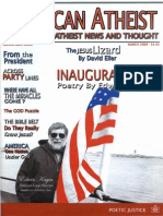 American Atheist Magazine March 2009