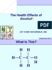 Health Effects of Alcohol 15
