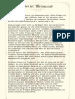 Prophet Mohammed - Deutsch (German)