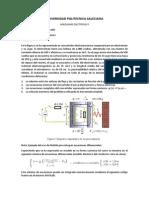 Modelo dinámico de una máquina electromagnética