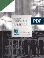 Revista Opinião Jurídica, n. 11, 2009