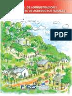 Manual de Administracion y Mantenimiento de Acueductos Rurales