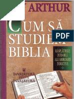 Cum Sa Studiem Biblia de Kay Arthur