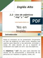 """2.2 - Uso de Adjetivos """"-Ing"""" y """"-Ed"""" Para Describir Emociones y Sus Causas"""