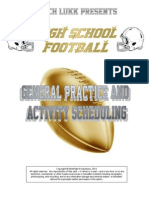 HS Football General Practice and Activity Scheduling, 2015