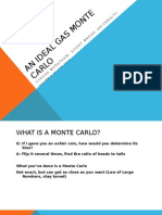 An Ideal Gas Monte Carlo