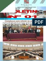 BOLETIN NRO. 001 ODECMA