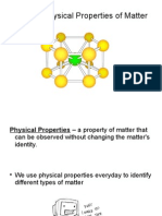 physci ch  2-2 notes - physical properties of matter
