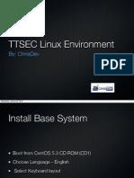 TTSEC Linux Environment