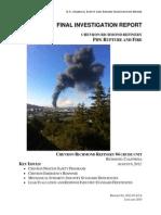 Chevron Final Investigation Report 2015-01-28