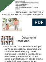 Desarrollo Emocional del niño