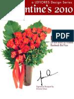 Lefiores Valentine's 2010 Floral Catalog