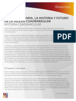 Print Foursquare Our History Spanish